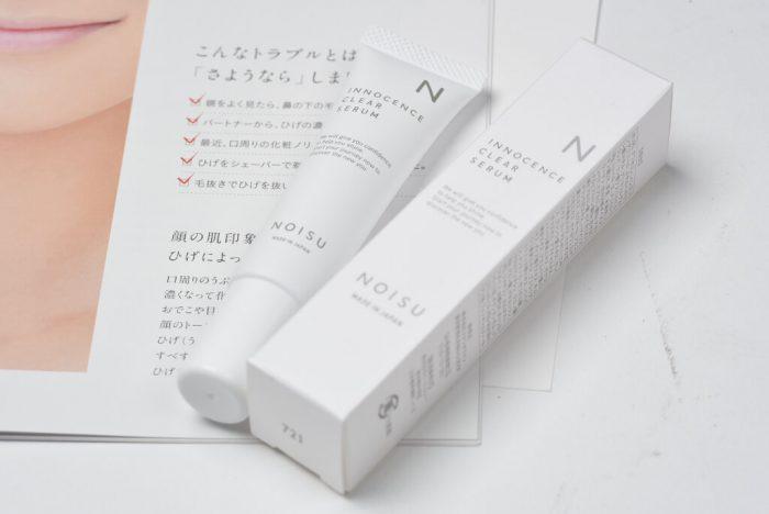 """顔の産毛専用の抑毛クリーム""""noisu"""""""