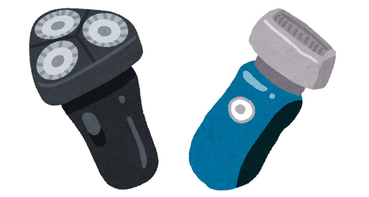 電気シェーバーなら刃が直接肌に当たらないため、角質を傷つける恐れが少ないので、 肌への負担を減らしたいなら、カミソリよりも電気シェーバーがおすすめです。